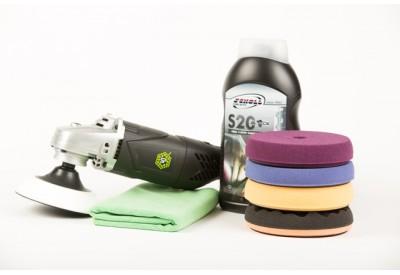 SP Pro Lightweight Rotary Polisher S20 Black Kit